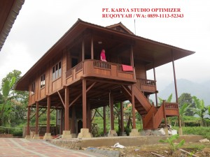 Jasa-Pembuatan-Rumah-Kayu-Bongkar-Pasang-Di-Gunung Kidul