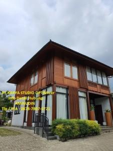 Jual Rumah Kayu Minimalis Murah Di Kota Madiun