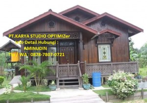 Jual Rumah Kayu Minimalis Murah Di Kota Probolinggo